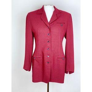 Vintage Cynthia Steffe Military Inspired Blazer
